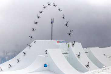 The worlds highehst air 14,3m - David Wise - Nine Knights - Italy