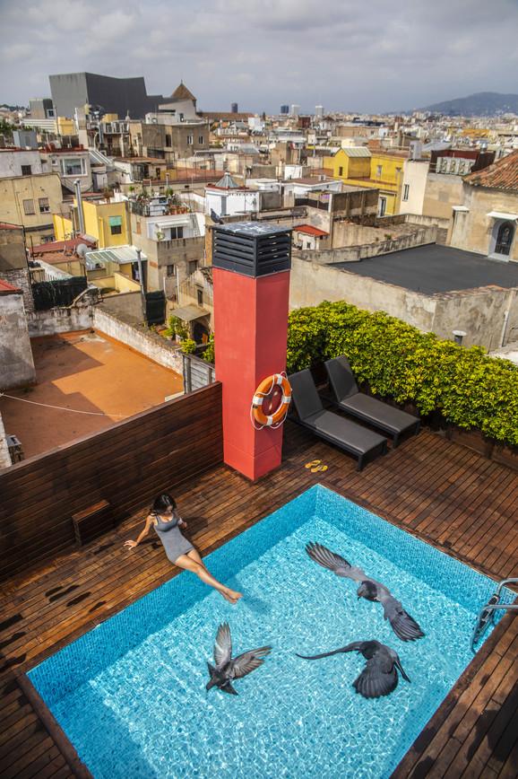 Barcelona - hotel rooftop