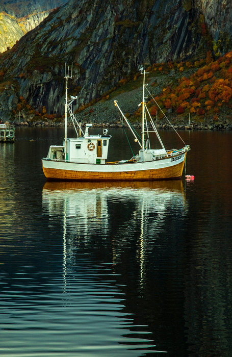 Boat - Reine - Norway