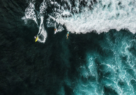 Surfing - Green Bowl Beach - Bali