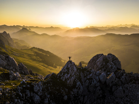 Swiss sunrise
