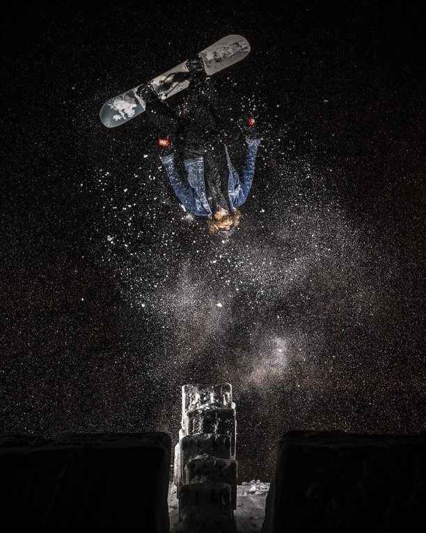 Backflip out of the cans - Alex Stewart - Northwave shooting - France