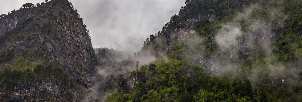 Nebel im Triglav Nationalpark
