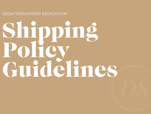 Shipping Policy Guidelines