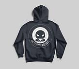 IP Sweater Back Iron Black:White Logo.pn