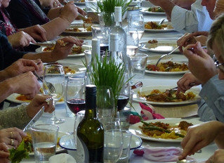 Long Table Lazy Lunches prove popular