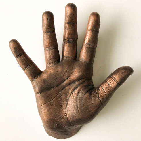 Forever Life Casting Bronze 4 year olds hand