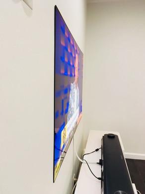 flush to wall tv installation