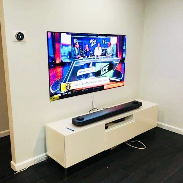 TV Wall Mounting & Sound Bar