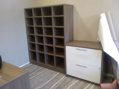 24 cubes storage shelf unit