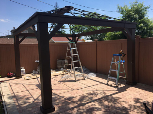 Gazebo assembly sevices