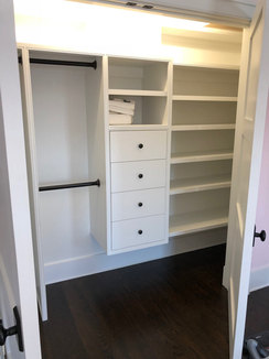 Walk in closet installation service