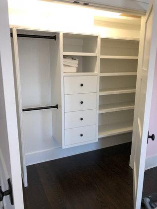 Walk in closet installation service