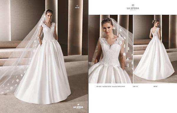 Свадебное платье La Sposa REYES 38