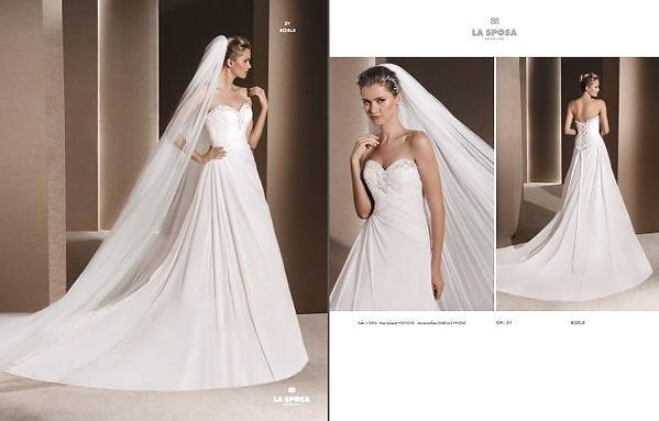 Свадебное платье La Sposa ROELE 4244