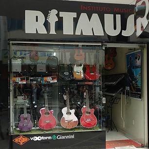 RITMUS instrumentos musicais e escola de