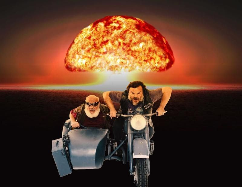 Jack Black and Kyle Glass are Tenacious D