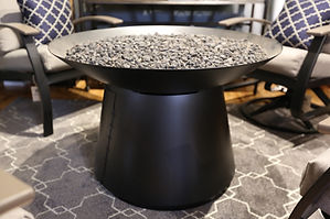 Basso Chat Gas Fire Pit