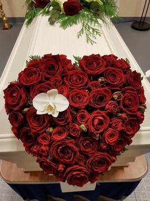 Hjerte i roser
