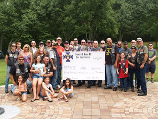 Sgt. Mac Foundation Receives Check for $11,560.19