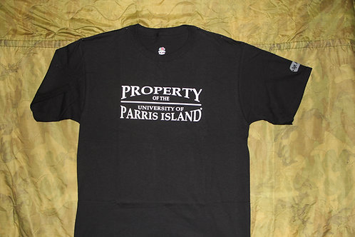 Property of the University of Parris Land tee