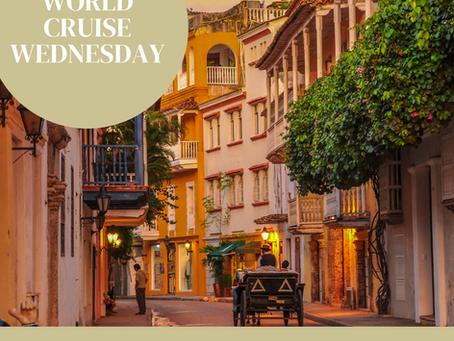 World Cruise Wednesday Day 4: Cartagena Columbia