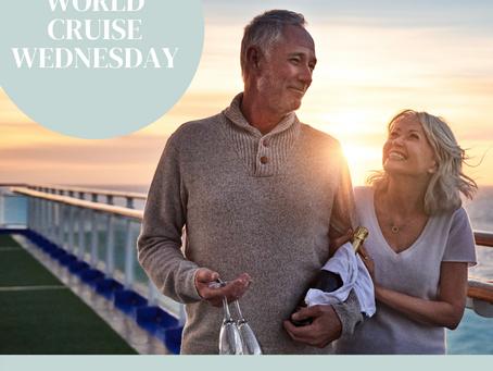 World Cruise Wednesday Day 2 & 3: At Sea