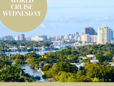 World Cruise Wednesday Day 1: Ft. Lauderdale
