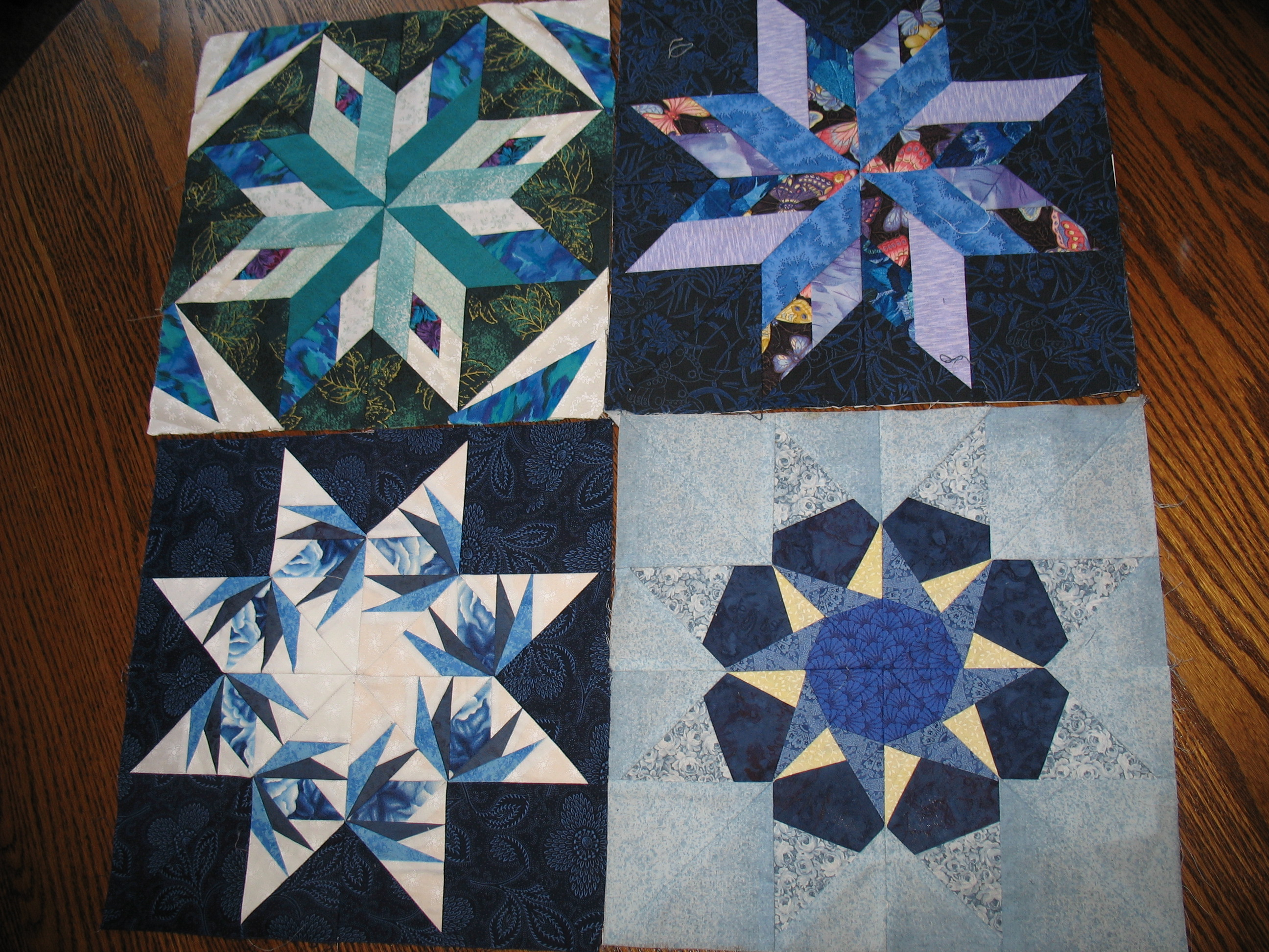 Paper Piecing Foundation Stars