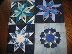 Paper Piecing Foundation Stars