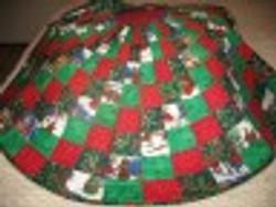 Christmas Spiral Tree skirt