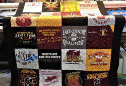 Personalized Project Teeshirt Quilt