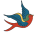 Dawns Vintage Do Bird Logo