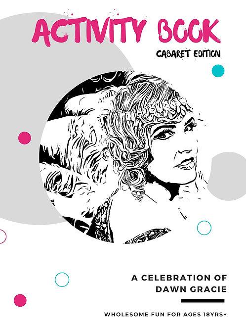 Activity Book | Cabaret Edition