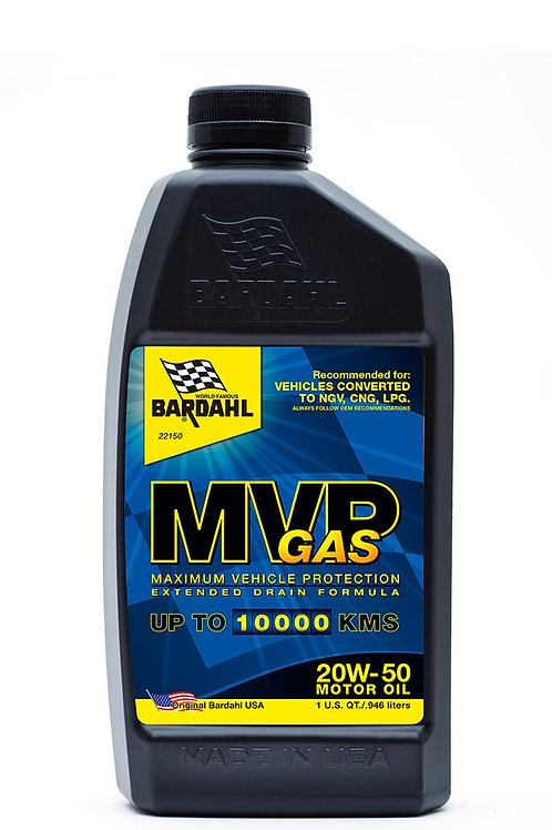 MVP 20W-50 Gas Motor Oil