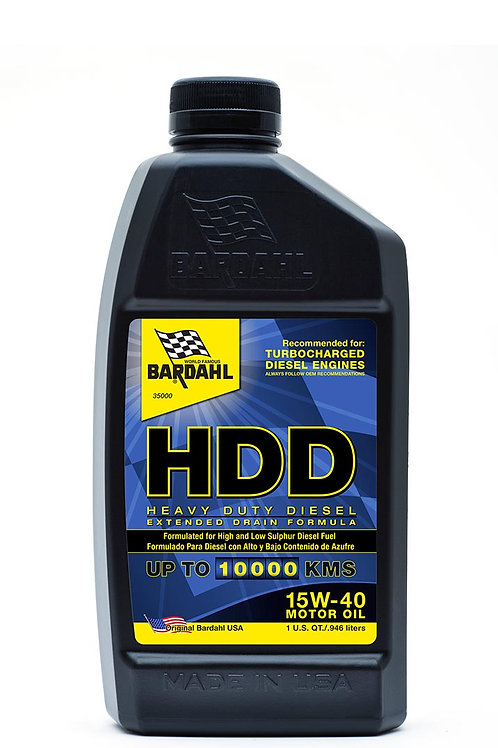 Heavy Duty Diesel (HDD) 15W-40 Motor Oil