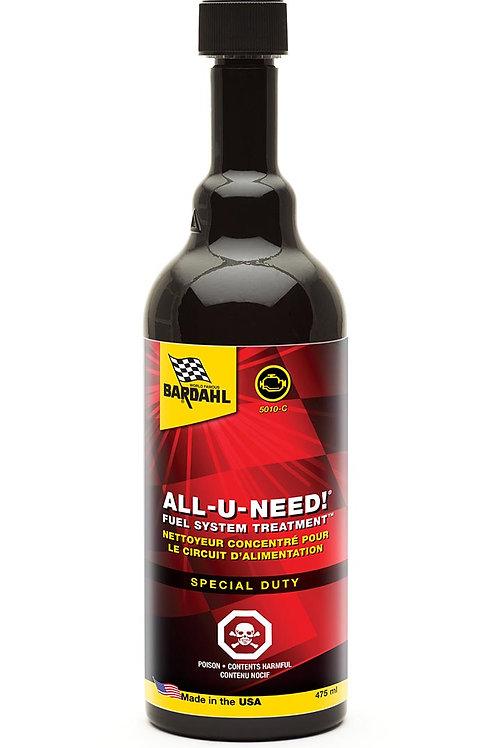 ALL-U-NEED! Fuel System Treatment