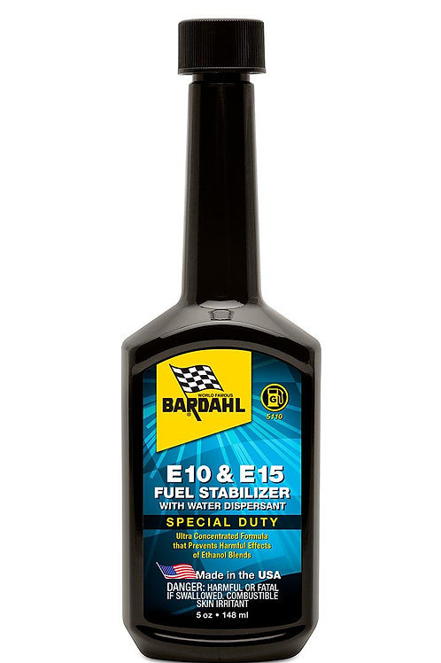 E10 & E15 Fuel Stabilizer with Water Dispersant