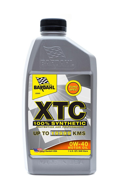 XTC 100% Synthetic 0W-40 Passenger Car Diesel Engine Oil