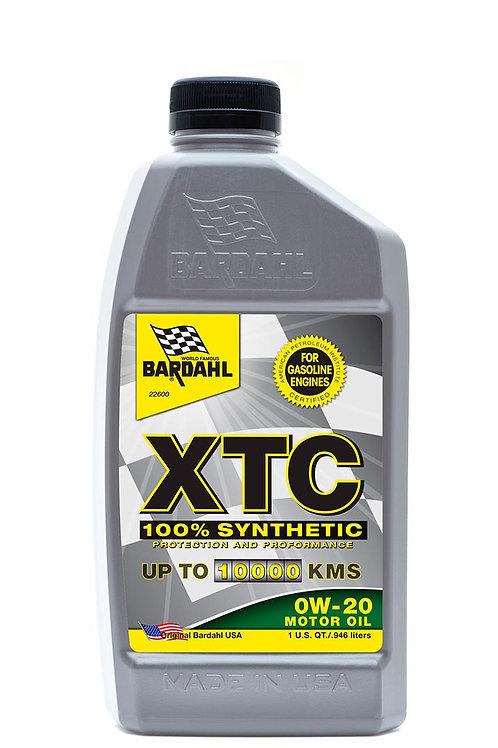 XTC 100% Synthetic 0W-20 Motor Oil