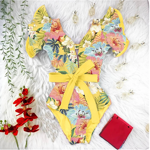 Orchid One Piece (Yellow)