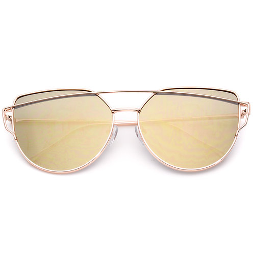 Iridescent Gold with Gold Frames