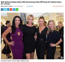 Kick-Off for Fashion Stars Gala