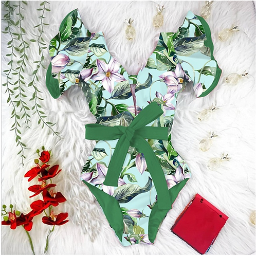 Orchid One Piece (Green)