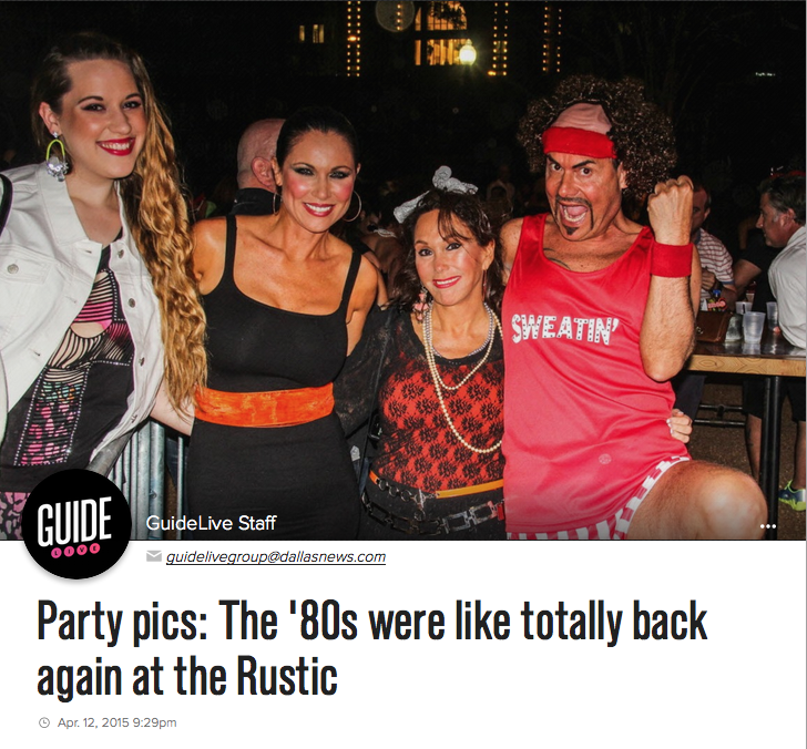 Guide Live-DMN 80s Party