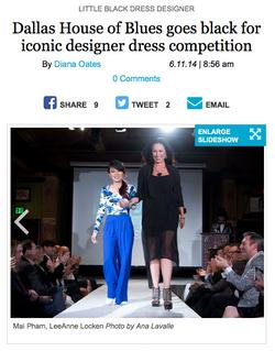 CultureMap Little Black Dress Competition