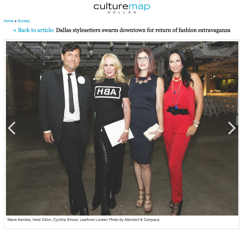 CultureMap FashionX Dallas