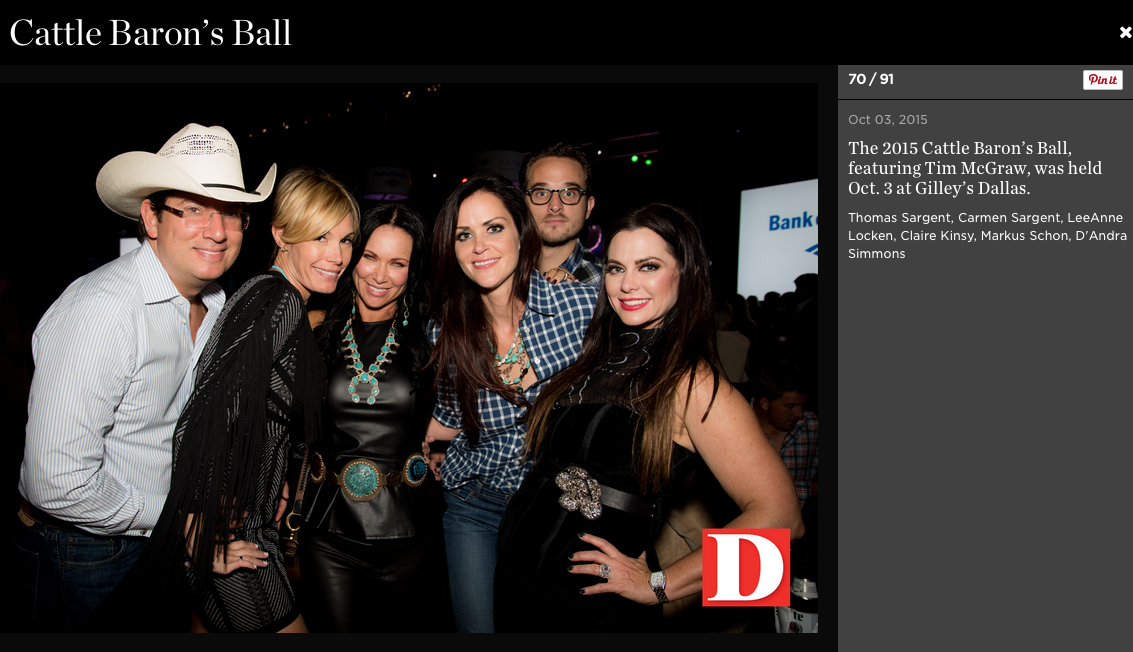 D Magazine Cattle Barons Ball 4