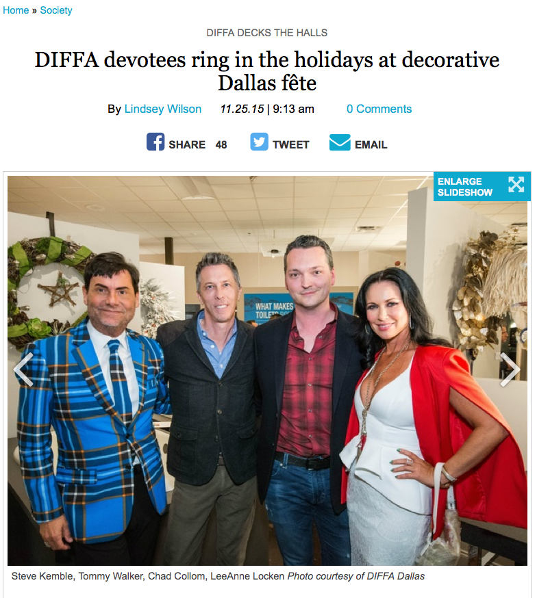 DIFFA Wreath Auction