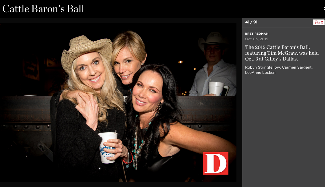 D Magazine Cattle Barons Ball 3